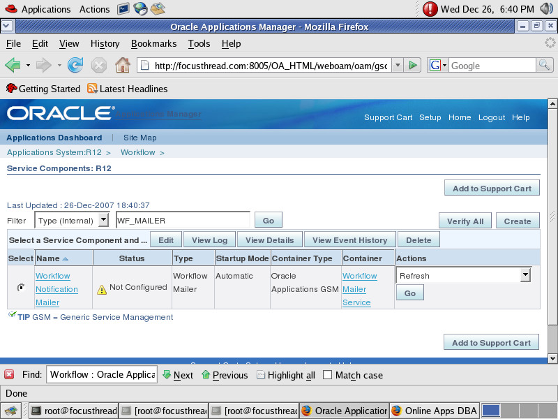 Workflow Notification Mailer Setup in Oracle Apps R12/12i - Oracle  Trainings for Apps & Fusion DBA