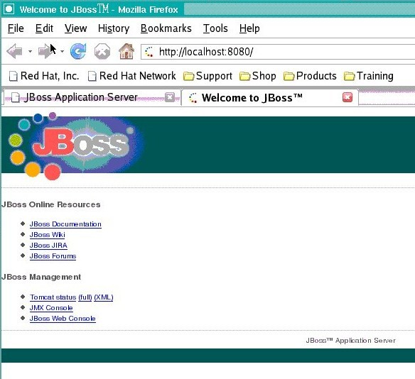 Jboss Home Page