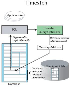 Times Ten In Memory Database Architecture