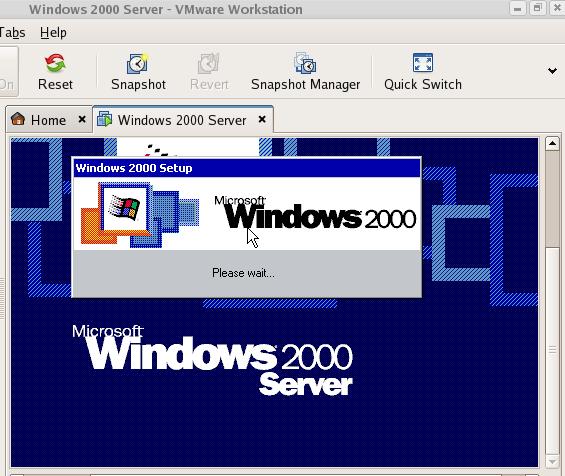 Virtual Pc Windows 2000 – Jerusalem House