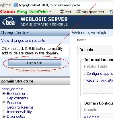 Deploy Application on Oracle WebLogic Server - Oracle