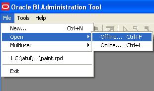 User Management in OBIEE using BI Administration Tool
