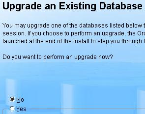 Upgrade Oracle Database 10g to 11g R1 (11 1 X) - Oracle Trainings