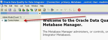ODI - Data Quality : Metabase Manager - Oracle Trainings for