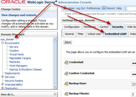 how to integrate weblogic with oracle internet directory for login