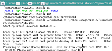 Oracle Fusion Applications : Provisioning Framework