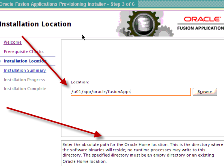 Oracle Fusion Applications : Provisioning Framework Installation
