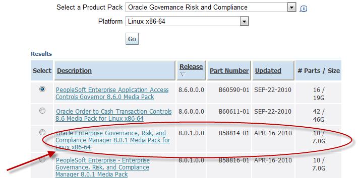 EGRCM 8.0.1 Download Screenshot