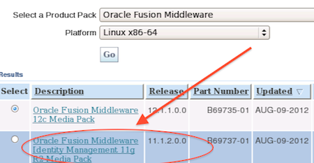 oracle 11g patch set
