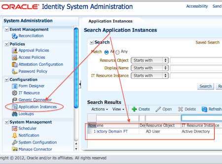 Application Instance in OIM - IDM 11gR2 changes/new features