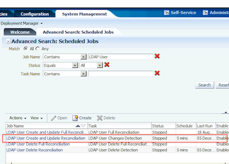 User not synced from OID (LDAP) to OIM (LDAPsync) : Account