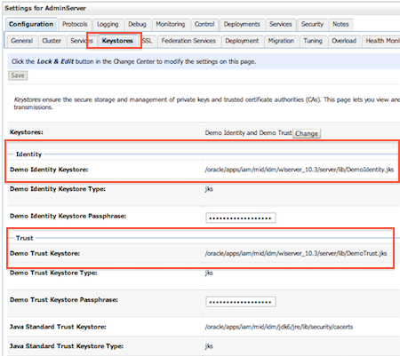 SSL in WebLogic (CA, KeyStore, Identity & Trust Store) : Things you