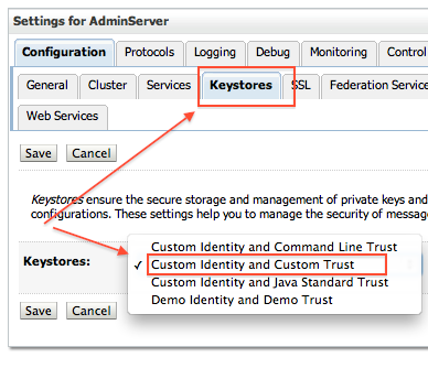 SSL in WebLogic Server - Part II : Create KeyStore, generate CSR