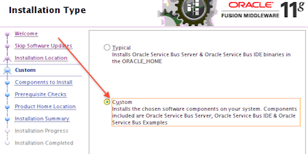Oracle Service Bus (OSB) 11 1 1 7 installation : Overview and Key