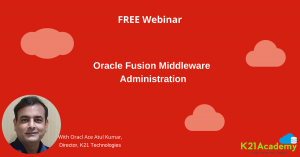 Free Oracle Fusion Middleware Webinar