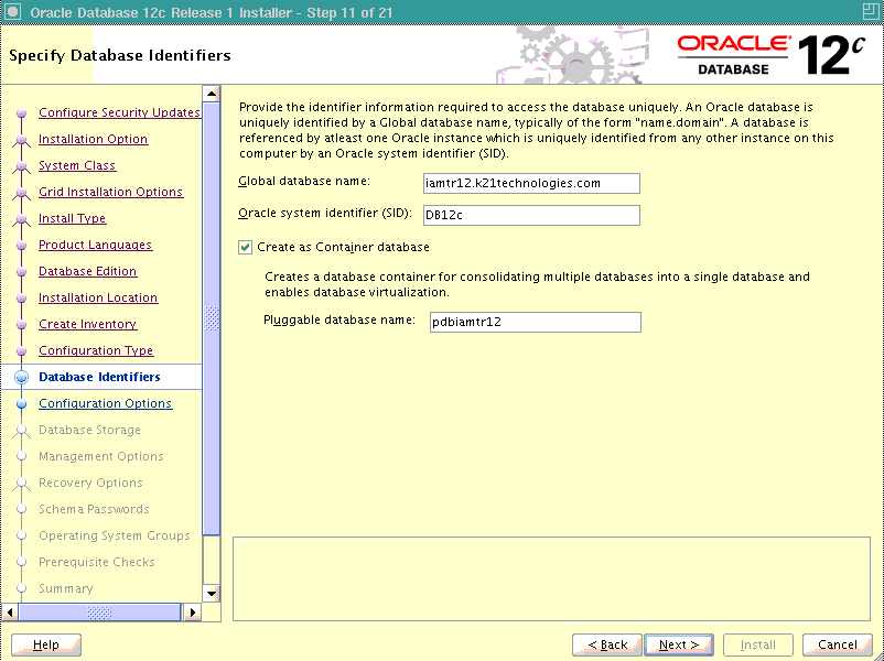 Oracle Database 12c : Multitenant Architecture : Container or