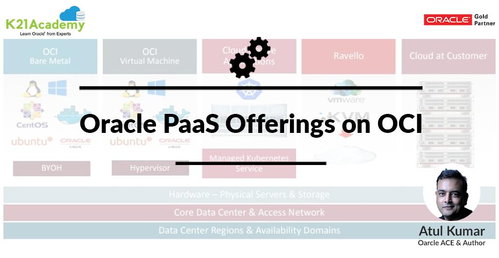 Oracle PaaS Offerings